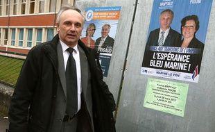 Franck Briffaut, maire de Villers-Cotterêts, en mars 2015.