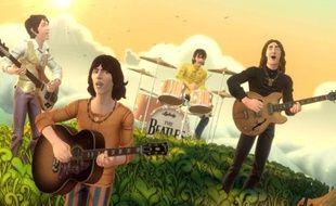 Les Beatles - Image d'un jeu pour ordinateur