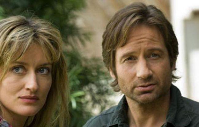 Natascha McElhone et David Duchovny dans la série «Californication»