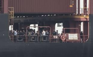 Environ 16 tonnes de cocaïne saisies sur un bateau, dans le port de Philadelphie