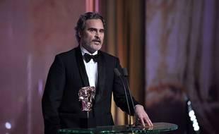 Joaquin Phoenix à la cérémonie des Bafta.