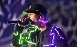 Le chanteur Nekfeu lors des 31ème Victoires de la Musique, le 12 février 2016.
