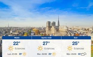 Météo Paris: Prévisions du dimanche 20 septembre 2020