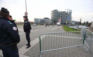 Sécurité renforcée autour des institutions européennes à Strasbourg (Archives)