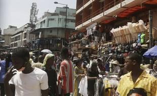 Une rue de Lagos au Nigeria le 5 juin 2020 (illustration).