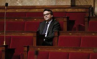 Thomas Thévenoud lors d'un débat à l'Assemblée nationale, le 28 novembre 2014 à Paris