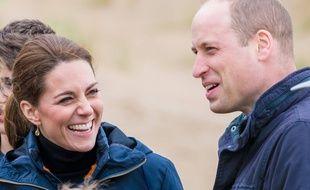 Kate Middleton et le prince William au Pays de Galles.