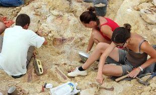 Des paléontologues ont découvert un nouveau type de dinosaure, vieux de 75 millions d'années, au cours de fouilles entamées en 2002 dans les collines de la commune de Velaux, près d'Aix-en-Provence (Bouches-du-Rhône, sud-est de la France).