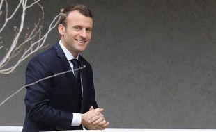 Le président Emmanuel Macron à Bastia, le 7 février 2018.