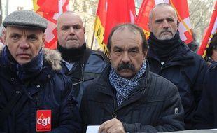 Le chef de la CGT, Philippe Martinez (archives).