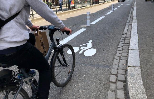 Déconfinement à Strasbourg: De nouvelles pistes cyclables installées, les associations en réclament davantage