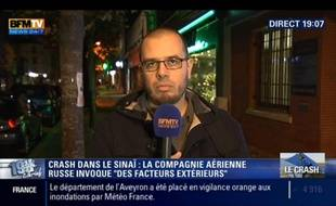 Romain Caillet était l'un des experts spécialisé dans le djihad sur BFMTV.