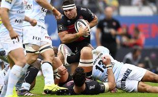 Guilhem Guirado (RC Toulon) fait partie des rugbymen qui n'ont pas trop envie de bosser le 24 décembre.