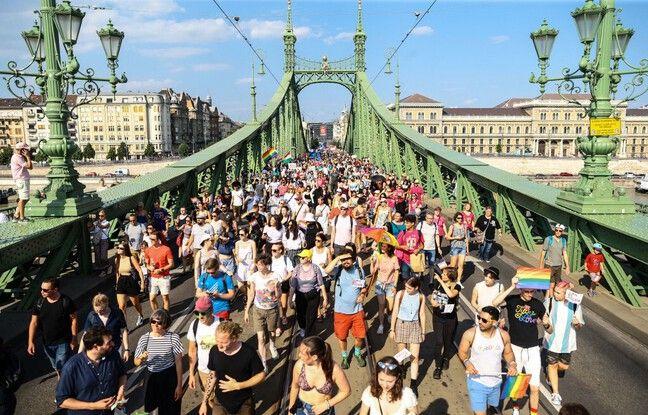 648x415 lors marche fiertes lgbt budapest samedi
