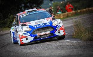 Adrien Fourmaux a été sacré champion de France de rallye junior