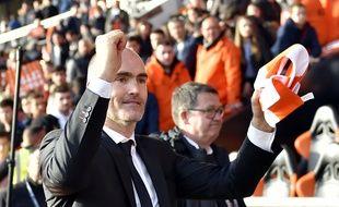 Loïc Féry est toujours aux commandes du FC Lorient.