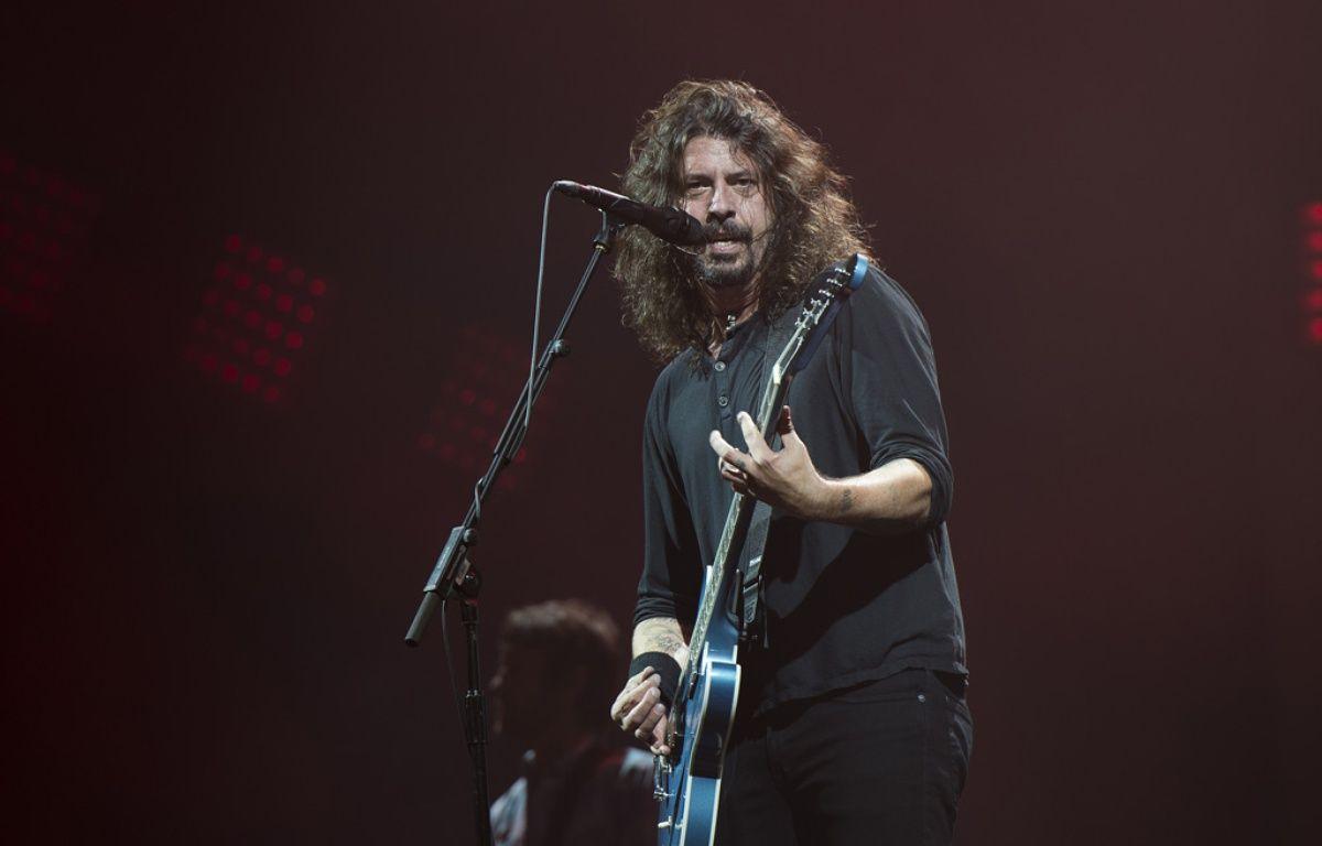 L'artiste Dave Grohl au festival de Glastonbury – WENN