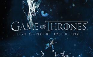 Le compositeur Ramin Djawadi donne une «Live Concert Experience» de sa musique pour «Game of Thrones» samedi 12 mai 2018 à l'AccorHotels Arena à Paris