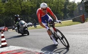 Tom Dumoulin bien parti pour gagner le Tour d'Italie, le 28 mai 2017.