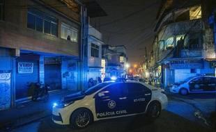 Image d'illustration d'une voiture de police au Brésil.