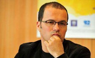 Luc Barruet, fondateur de Solidarité Sida, le 7 juin 2010.