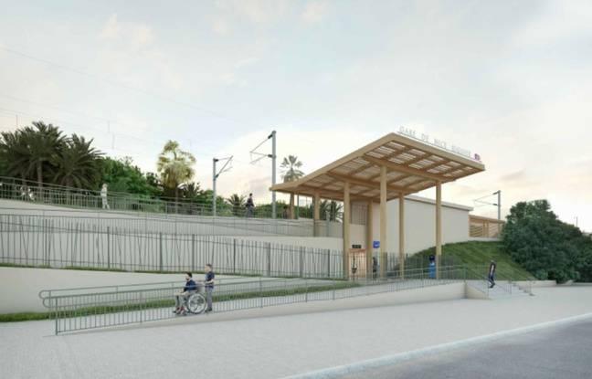 Nice: La gare de Saint-Augustin va être déplacée pour faire