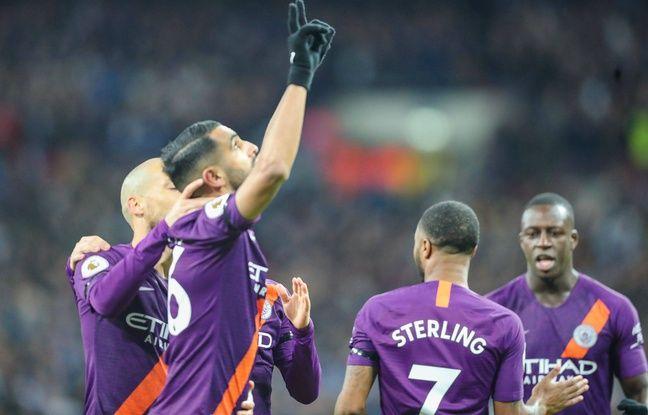 «C'était comme un père»... Riyad Mahrez dédie son but contre Tottenham au défunt président de Leicester