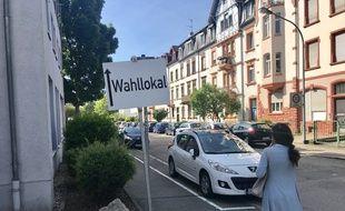 Il y a 42 bureaux de vote à Offenbourg, dans le Bade-Wurtemberg, en Allemagne.