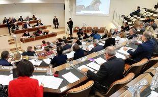 L'assemblée du conseil départemental de Loire-Atlantique.