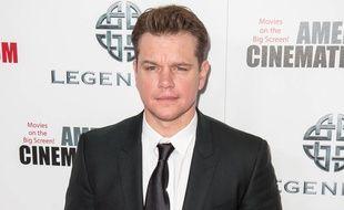 L'acteur Matt Damon