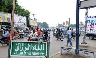 Des islamistes présumés ont attaqué mercredi un marché à Maiduguri, berceau du groupe islamiste Boko Haram dans le nord-est du Nigeria, tuant sept commerçants, a annoncé la police jeudi.