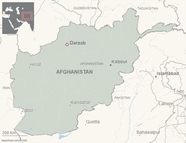 Darzab, dans le nord de l'Afghanistan.