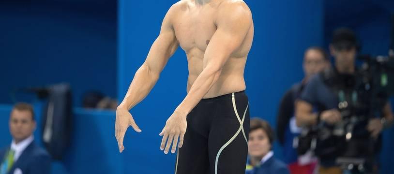 «En natation, je m'entraîne pour être le meilleur du monde, pour arriver sur une finale de Jeux olympiques, avoir le stress et détester la défaite», raconte Florent Manaudou (illustration).