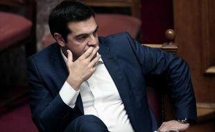 Le Premier ministre grec Alexis Tsipras à Athènes le 5 juin 2015