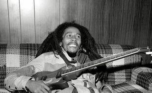 Le chanteur Bob Marley en 1979