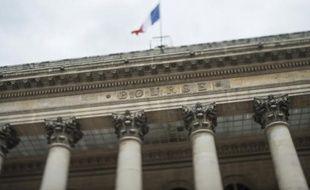 Le Palais Brongniart ancienne Bourse de Paris
