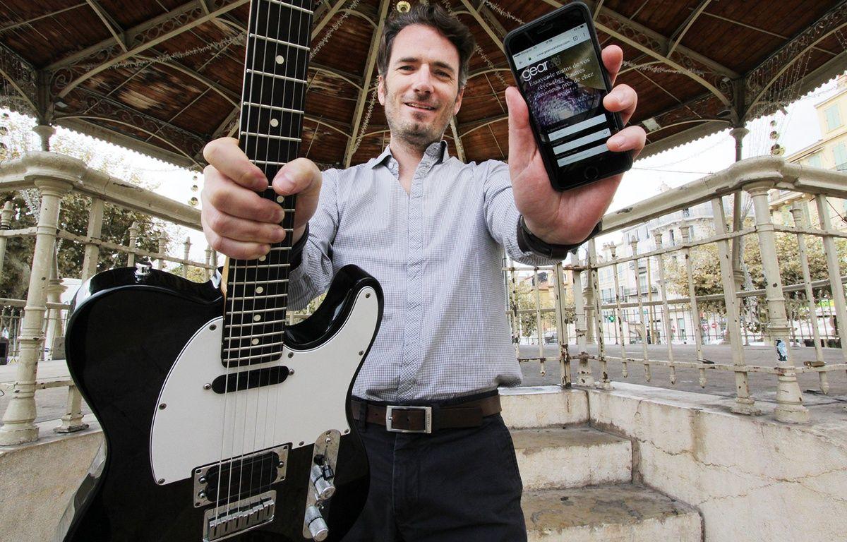 Le Cannois Mathieu Dulac, passionné de musique, a lancé gearnextdoor.com – F. Binacchi / ANP / 20 Minutes