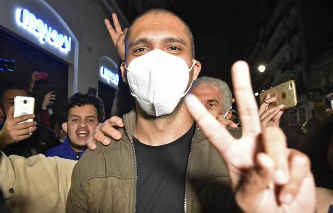 648x415 journaliste militant khaled drareni apres liberation 19 fevrier 2021