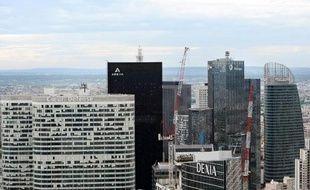 Siège de Dexia à La Défense, près de Paris, le 10 mai 2012