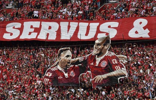 VIDEO. Le Bayern champion, Ribéry et Robben buteurs pour leur dernier match