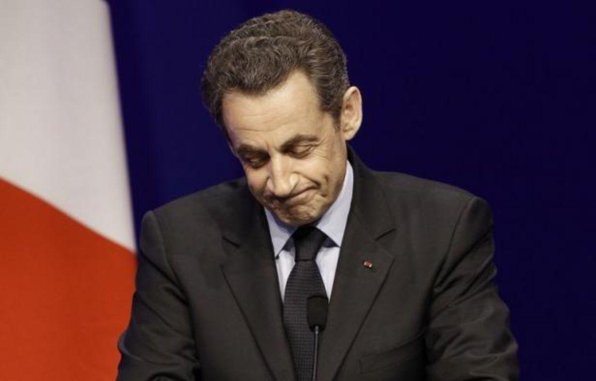 La presse européenne se montrait sceptique sur les chances de Nicolas Sarkozy de conserver le pouvoir en France à l'issue du second tour de l'élection présidentielle le 6 mai face au socialiste François Hollande, tout en soulignant unanimement le score au premier tour de Marine Le Pen et, dans une moindre mesure, celui de Jean-Luc Melanchon. – Kenzo Tribouillard afp.com