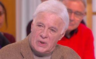 Guy Bedos sur le plateau de La Nouvelle Édition de Canal+ le 24 février 2016