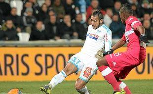 Dimitri Payet a ouvert le score face à Toulouse dimanche.