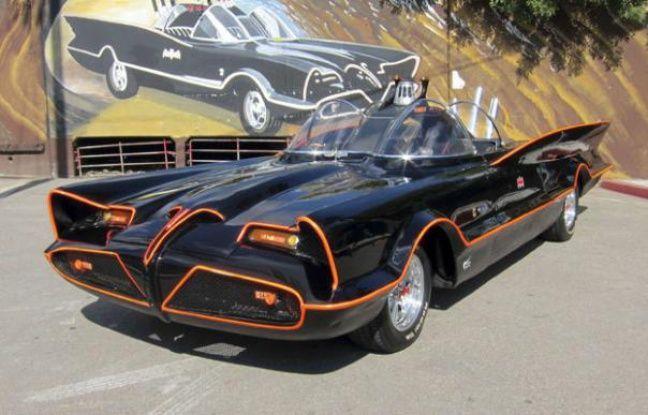 La Batmobile vendue aux enchères le 19 janvier 2013.