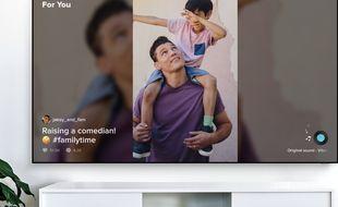 TikTok débarque sur les téléviseurs