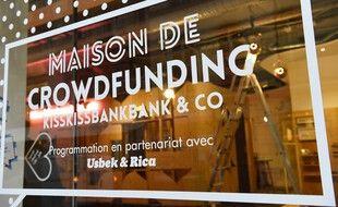 La Maison du crowdfunding de Kiss kiss bank bank, en 2016. (archives)