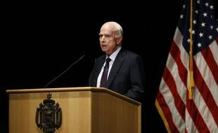 John McCain, le 30 octobre 2017.