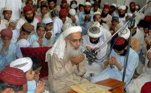 Le mollah Abdul Aziz le 7 juillet 2009 à Islamabad