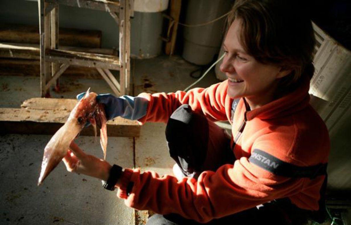 Claire Nouvian, fondatrice de l'association Bloom, milite pour la protection des fonds marins. – Claire Nouvian