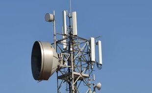 Une antenne relais (illustration).